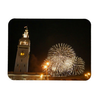 San Francisco Ferry Building Fireworks #2-1 Magnet