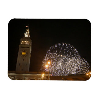 San Francisco Ferry Building Fireworks #3-1 Magnet