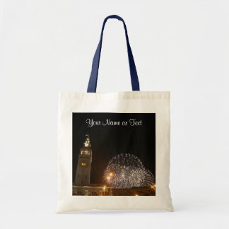 San Francisco Ferry Building Fireworks #3 Tote Bag