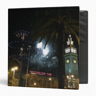 San Francisco Ferry Building Fireworks Binder