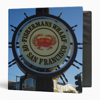 San Francisco Fishermans Wharf Binder