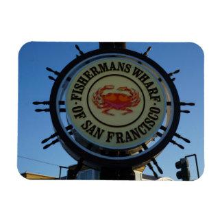 San Francisco Fishermans Wharf Photo Magnet