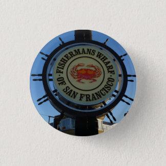 San Francisco Fishermans Wharf Pinback Button