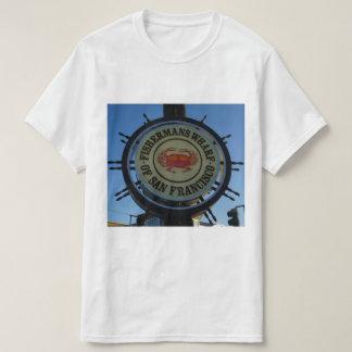 San Francisco Fishermans Wharf T-shirt