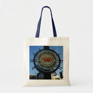 San Francisco Fishermans Wharf Tote Bag