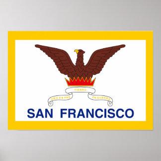 San Francisco Flag Poster