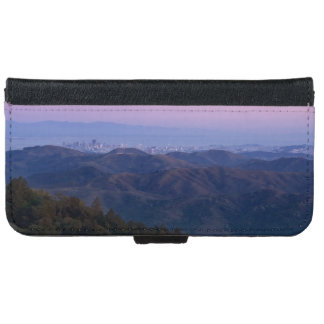 San Francisco from Mount Tam iPhone 6 Wallet Case