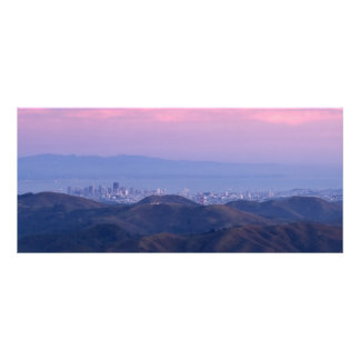 San Francisco from Mount Tam Rack Card