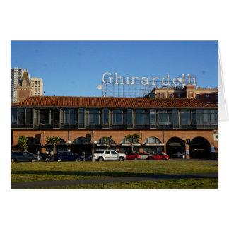 San Francisco Ghirardelli Square Card