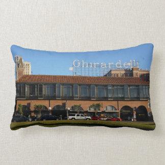 San Francisco Ghirardelli Square Lumbar Pillow
