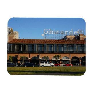 San Francisco Ghirardelli Square Photo Magnet