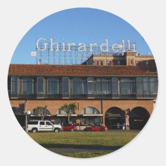 San Francisco Ghirardelli Square Stickers