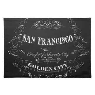 San Francisco, Golden City-Everybody's Favorite Placemat