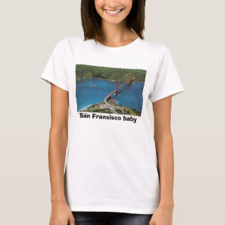 San Francisco Golden Gate Bridge 2_jpg, San Fra... T-Shirt