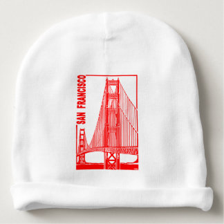 San Francisco-Golden Gate Bridge Baby Beanie