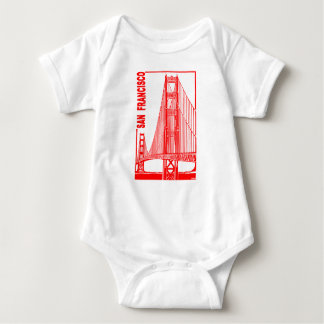 San Francisco-Golden Gate Bridge Baby Bodysuit