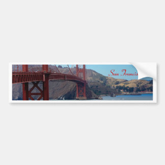 San Francisco, golden gate bridge Bumper Sticker