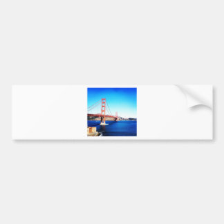 San Francisco Golden Gate Bridge California Bumper Sticker