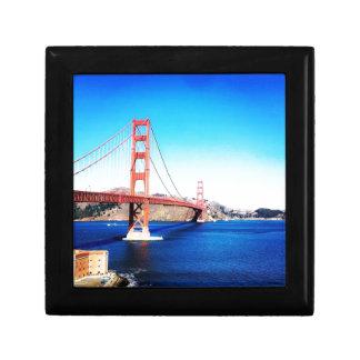 San Francisco Golden Gate Bridge California Gift Box