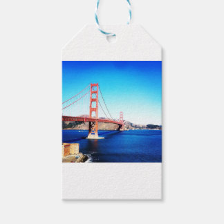 San Francisco Golden Gate Bridge California Gift Tags