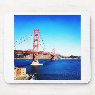 San Francisco Golden Gate Bridge California Mouse Pad