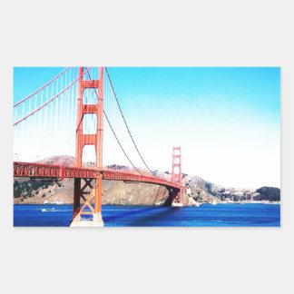 San Francisco Golden Gate Bridge California Sticker