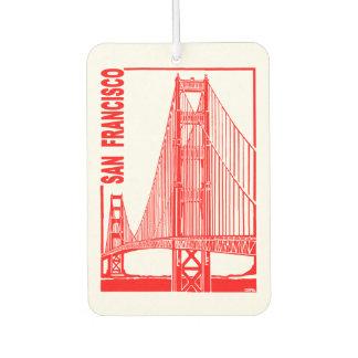 San Francisco-Golden Gate Bridge Car Air Freshener