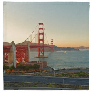 San Francisco Golden Gate Bridge Cloth Napkins