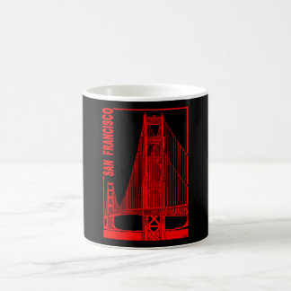 San Francisco-Golden Gate Bridge Coffee Mug