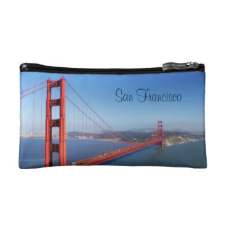San Francisco Golden Gate Bridge Cosmetic Bag