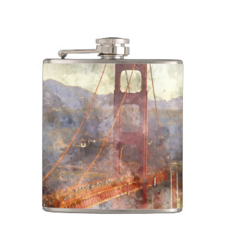 San Francisco Golden Gate Bridge Flasks