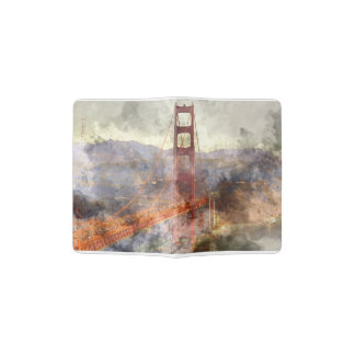 San Francisco Golden Gate Bridge in California Passport Holder