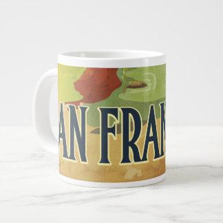 San Francisco Golden Gate Bridge Large Coffee Mug