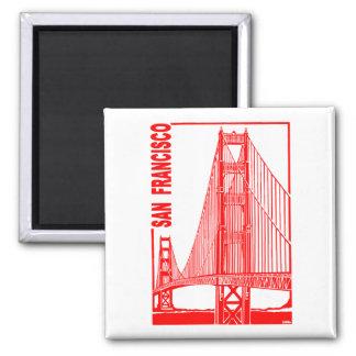 San Francisco-Golden Gate Bridge Magnet