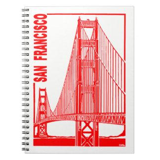 San Francisco-Golden Gate Bridge Notebook