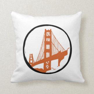 San Francisco, Golden Gate Bridge Pillow