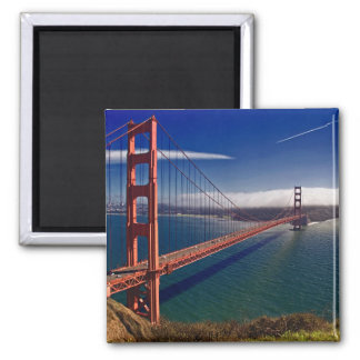 San Francisco Golden Gate Bridge Square Magnet