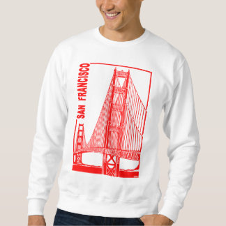 San Francisco-Golden Gate Bridge Sweatshirt