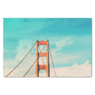 San Francisco Golden Gate Bridge Tissue Paper