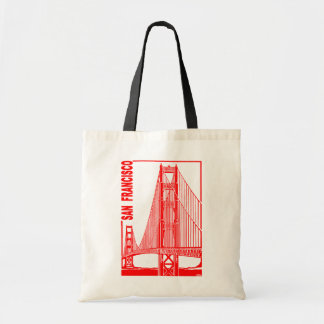San Francisco-Golden Gate Bridge Tote Bag