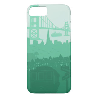 San Francisco Golden Gate Bridge Trolley iPhone iPhone 7 Case