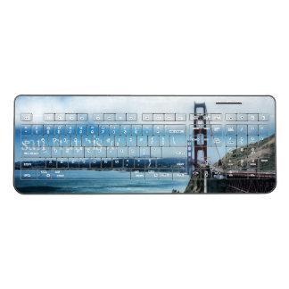 San Francisco Golden Gate Bridge Wireless Keyboard