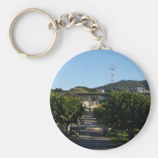 San Francisco Golden Gate Park #2 Keychain