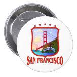 San Francisco Golden Gate Pinback Buttons