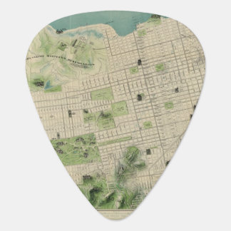 San Francisco Guitar Pick