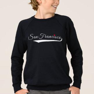 San Francisco Heart Logo Sweatshirt