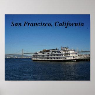 San Francisco Hornblower Cruise #2 Poster