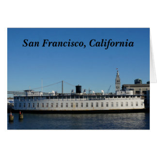 San Francisco Hornblower Cruise Card