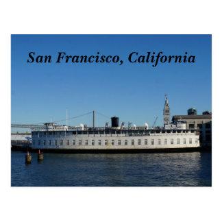 San Francisco Hornblower Cruise Postcard