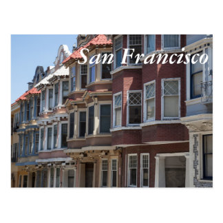 San Francisco Houses Postcard